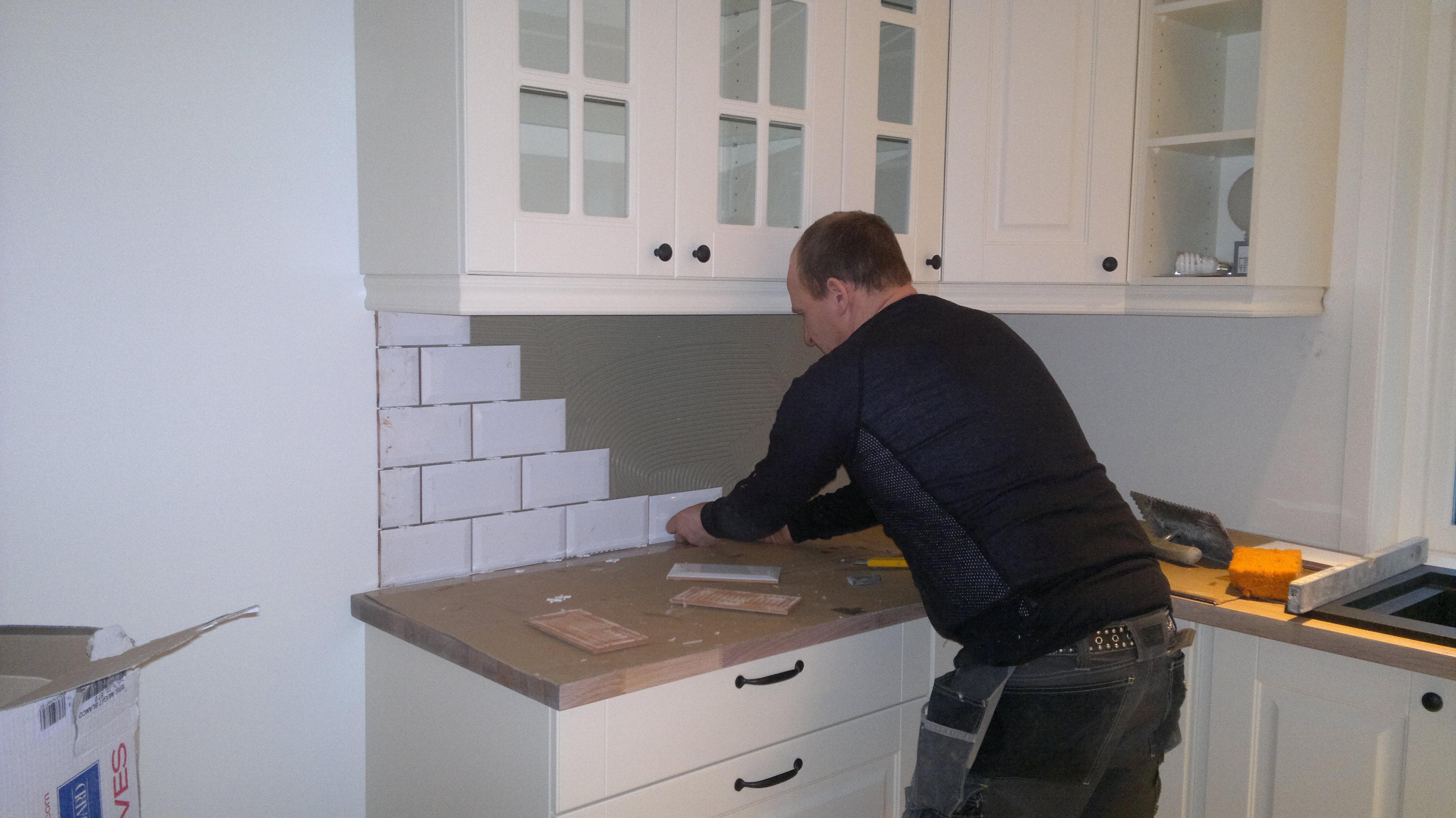 Hvordan legge fliser kjøkken