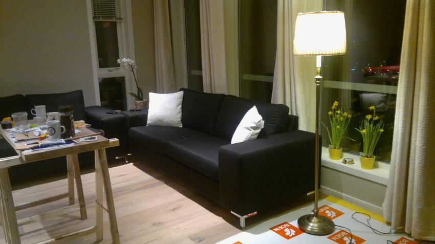 Kjøpte to sofaer billig på Møbelringen, de blir sikkert byttet ut etterhvert, men de duger enn så lenge ;-)