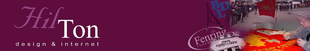 HILTON design & internett : bergen – logodesign – visittkort – logo – illustrasjon – bryllup – bordkort – webdesign