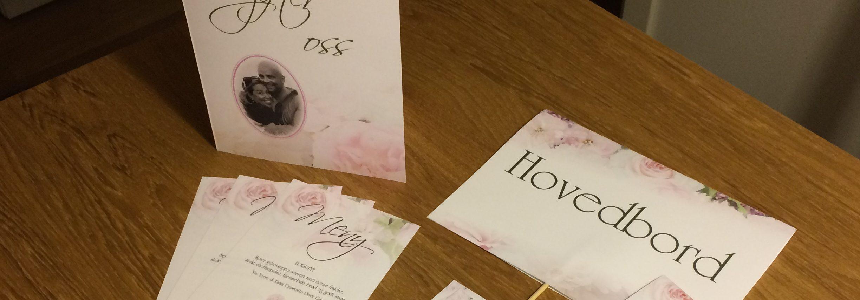 bryllupsdesign